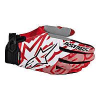 Мотоперчатки ALPINESTARS RACER красный черный L