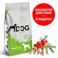 PLATINUM DOG Полнорационный корм премиум класса для Щенков всех пород 10 кг