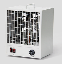 Электрический промышленный тепловентилятор ТПВ 4кВт 220В