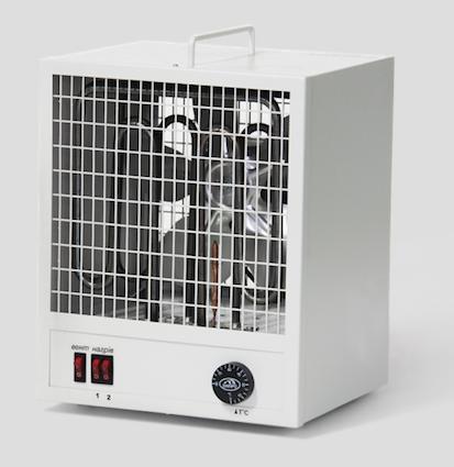 Электрический промышленный тепловентилятор ТПВ 4кВт 220В, фото 2