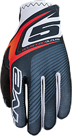 Мотоперчатки FIVE MX Practice текстиль красный 2XL