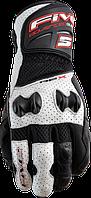 Мотоперчатки FIVE RFX New Air кожа/текстиль черный белый 2XL
