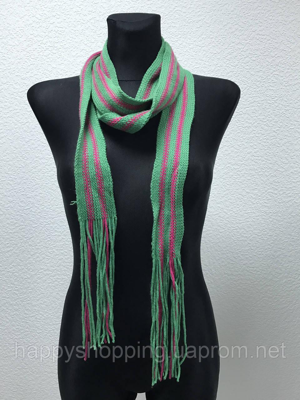 Зеленый шарфик
