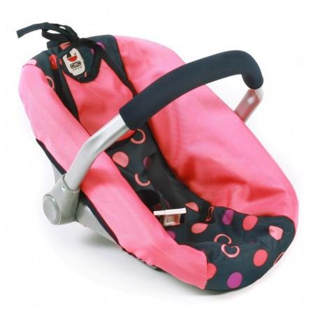 Автокресло для кукол - BAYER CHIC, цвет Corallo