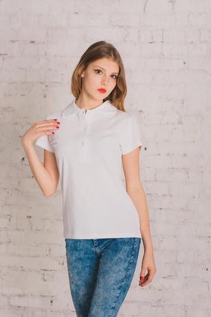 Bono Женская футболка Поло белая 400002