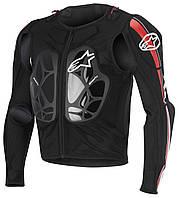 Моточерепаха ALPINESTARS Bionic Pro черный красный белый  L