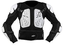 Моточерепаха подростковая ALPINESTARS Bionic 2 черный белый L