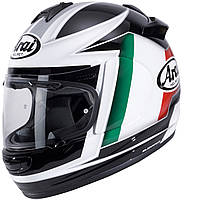 Мотошлем Arai Chaser-V Flag Italia белый черный зеленый L