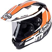 Мотошлем Arai Tour-X4 Shire черный белый оранжевый S