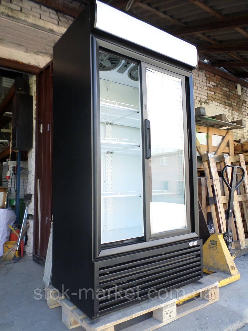 Холодильный шкаф Frigorex FVC 1000 б/у, шкаф холодильный среднетемпературный, шкаф-витрина холодильная б у.
