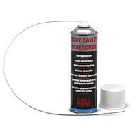 SOLL Восковое покрытие для внутреней защиты автомобиля (аэрозоль), прозрач