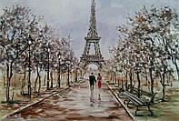 «Париж для нас двоих» картина маслом