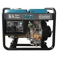 Генератор Konner&Sohnen KS6000DE, мощность 5 кВт