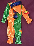 Новогодний костюм для мальчика Петрушка 6-8 лет