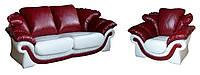 """Кожаный комплект мягкой мебели """"Loretta-2"""", фото 1"""