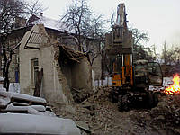 Снос дачных домов Демонтаж дачного домика
