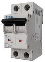 Автоматический выключатель PL4-C 16А/2 Eaton (Moeller)