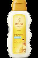 Weleda Badezusatz Baby Calendula Cremebad - Детский крем для ванны с календулой, 200 мл