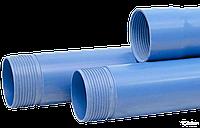 Обсадная труба ПВХ для скважин  Valrom d.125*6,0мм L=5м