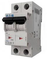 Автоматический выключатель PL4-C 20А/2 Eaton (Moeller)
