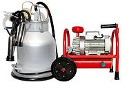 Доильный аппарат Буренка-1 Нержавейка 3000 (стаканы с нержавеющей стали)