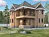 Каркасно щитовой дом общей площадью 182 м2