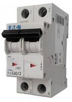 Автоматический выключатель PL4-C 40А/2 Eaton (Moeller)