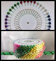 Булавки портновские с шариком, булавки портновские, швейные булавки