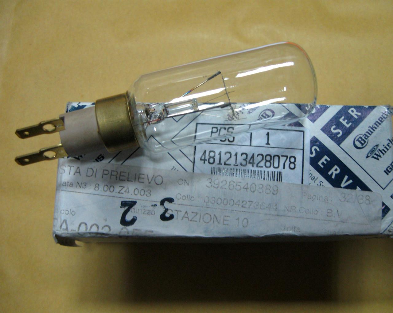 Лампа холодильника Whirlpool 481213428078