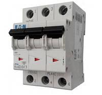 Автоматический выключатель PL4-C 10А/3 Eaton (Moeller)