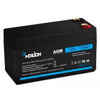 Аккумуляторная батарея MERLION MLB-12-1.3, 12V 1.3Ah