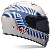 Мотошлем Bell Vortex Band белый синий M