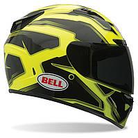 Мотошлем Bell Vortex Manifest черный желтый XS