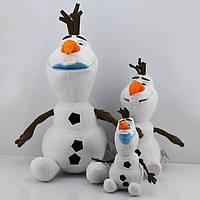 """Снеговик Олаф из мультфильма Frozen 2 """"Ледяное сердце"""" 25,30,50 см"""