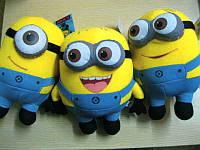 Миньоны игрушки плюшевые мягкие Миньоны посипаки 25 см из Гадкий я 3
