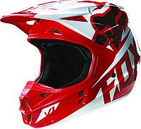 Мотошлем Fox V1 Race ECE красный, XL
