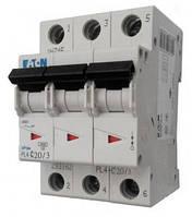Автоматический выключатель PL4-C 20А/3 Eaton (Moeller)