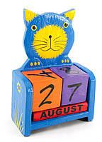 Календарь настольный Кот дерево