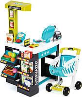 Smoby Интерактивный супермаркет с тележкой 350206, 41 аксессуар