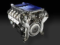 Двигатель и навесное Audi A8