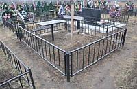 Кованые оградки для могил