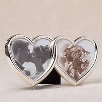"""Фоторамка """"Влюбленные сердца"""" (21*11 см, ф - 8*10 см)"""
