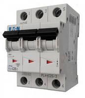 Автоматический выключатель PL4-C 25А/3 Eaton (Moeller)