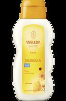 Weleda Badezusatz Baby Calendula Bad - Ароматическая добавка для купания младенцев с Календулой, 200 мл