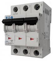 Автоматический выключатель PL4-C 40А/3 Eaton (Moeller)