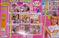 Домик для барби 71 HOKU 8 комнат с верандой