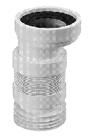 Колено для унитаза ТМ McAlpine WC-CON4F