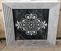 Камин из мрамора