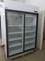 Холодильный шкаф холодильник б у Случь 1400 ВСн (двери купе) Интэко-Мастер, фото 1