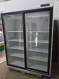 Холодильный шкаф холодильник б у Случь 1400 ВСн (двери купе) Интэко-Мастер, фото 3